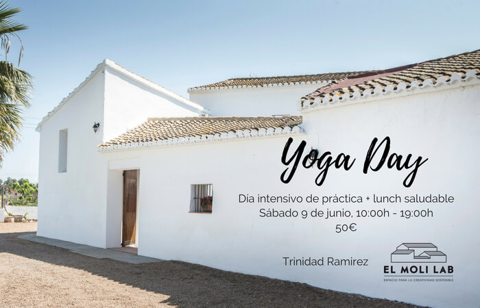 yoga day en el moli lab